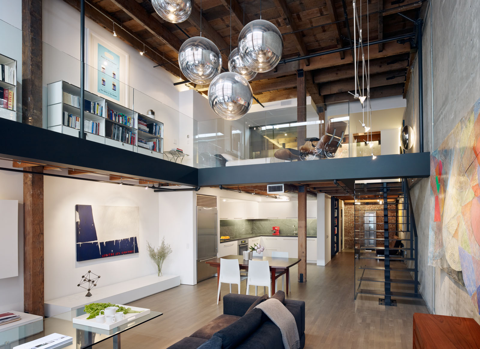 Oriental Warehouse Loft  Bruce Damonte Architectural Photographer