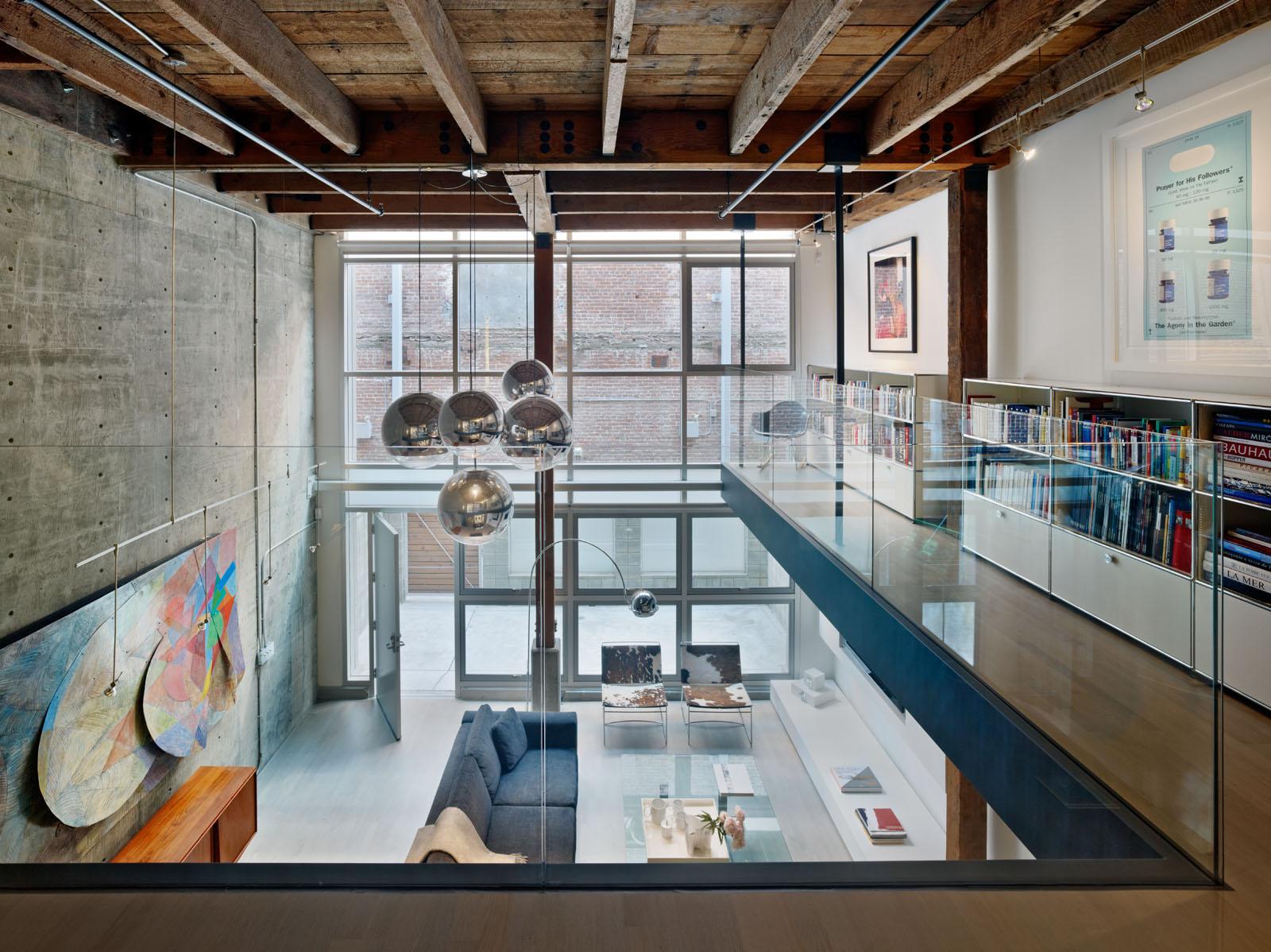 Oriental warehouse loft bruce damonte architectural for Architecture orientale