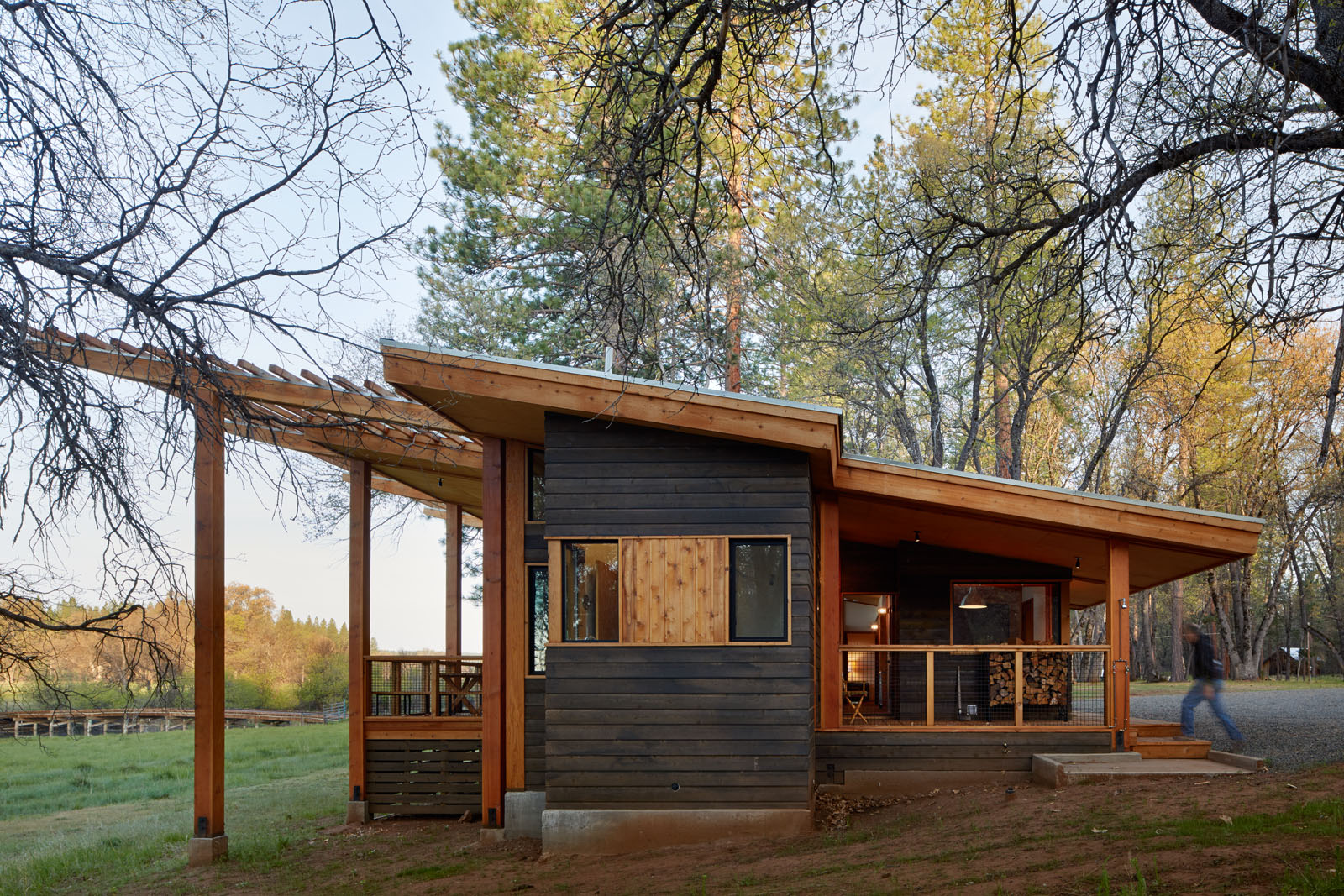 Fall River Cabin  Bruce Damonte Architectural Photographer
